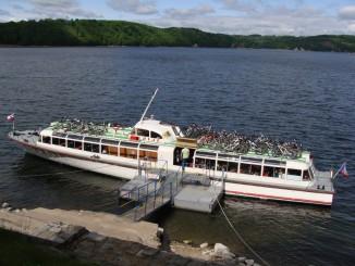 Cyklisté vítáni, 70 kol na palubě