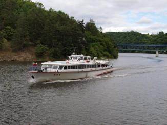 Loď VRANOV na Horce