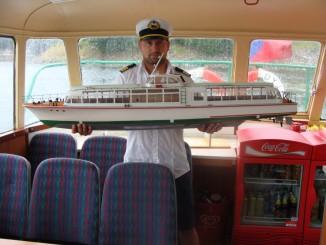 Model lodě DYJE
