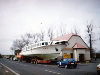 ms DYJE transport z Vranova X-1991